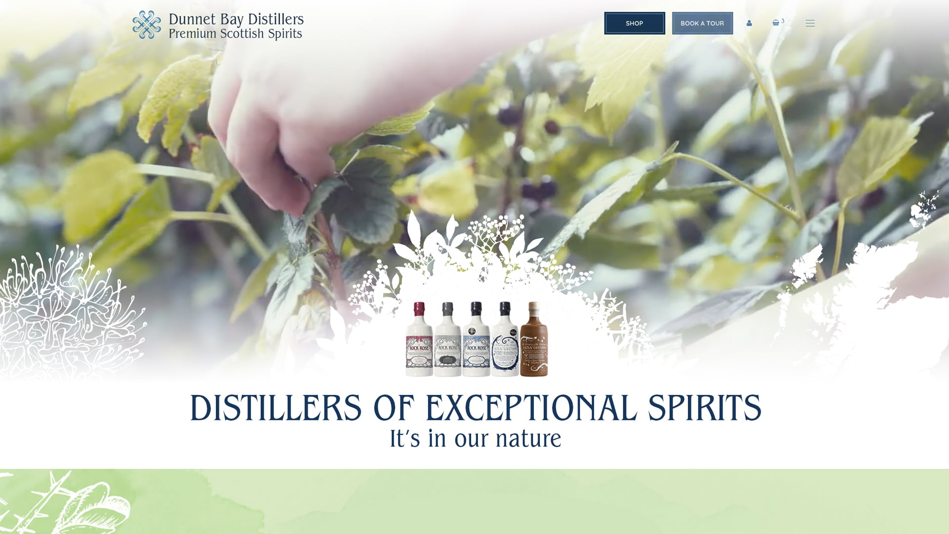 Dunnet Bay Distillers Website